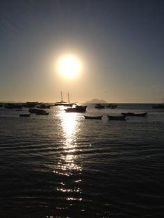 Fabuloso por do sol em Manguinhos, Búzios, Rio de Janeiro. #clickdebethvalentim
