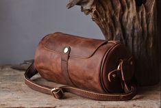 Leather Messenger Work Bag ,Genuine Leather Messenger Bag (SU10) - Thumbnail 1