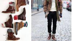Jak nosić buty za kostkę?
