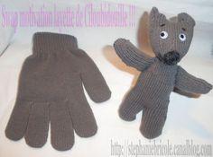 Comment faire un doudou avec un gant gant