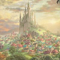Thomas Kinkade: Sleeping Beauty and The Lion King Disney Princesses – Thomas Kinkade: Sleeping Beauty Thomas Kinkade Art, Thomas Kinkade Disney, Disney Style, Disney Love, Kinkade Paintings, Thomas Kincaid, Most Beautiful Paintings, Disney Fine Art, Art Thomas