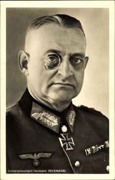 ■ GdI Hermann Recknagel (1892-1945) RKES - KG XXXXII.Armeekorps