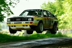 """""""Race control to Quattro S1, you are cleared for takeoff."""" #Audi"""