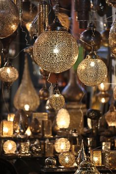 Marrakech lighting magic