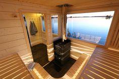 Garage Interior, Interior Garden, Interior Design, Indoor Sauna, Sauna House, Sauna Design, Coffee Shop Design, Saunas, Pool Designs