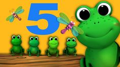 Five Little Speckled Frogs | Nursery Rhymes | HD Version from LittleBabyBum