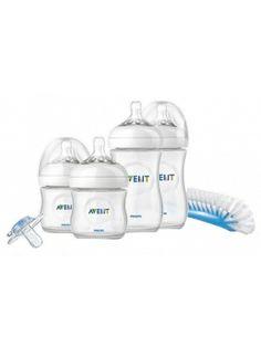 AVENT SCD290/00 Zestaw startowy dla noworodków  • łatwe łączenie karmienia piersią i butelką • bardziej wygodne i satysfakcjonujące karmienie dziecka • powietrze trafia do butelki, a nie do brzuszka dziecka • łatwe i pewne trzymanie w dowolnej pozycji