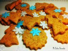 Galletas de jengibre y canela Stevia, Sweet Treats, Sweets, Cookies, Baking, Desserts, Recipes, Food, Canela