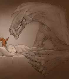 This is why you should always sleep with a Teddy bear