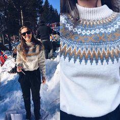 """130 likerklikk, 10 kommentarer – Stjernestrikk (@stjernestrikk_as) på Instagram: """"Fine Henni-Penni klar for 5 mila i Holmenkollen skifest 2017 med nystrikka Rallargenser …"""""""