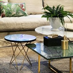 A Wonderful Contrast of Different Materials and Surfaces - OX Denmarq O Table Design by Dennis Marquart Home Decor Furniture, Living Room Furniture, Living Room Decor, Furniture Design, Living Room Inspiration, Interior Inspiration, Sofa Tables, Classic Interior, Coffee Table Design