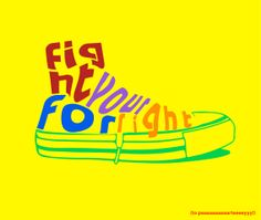 "Image of the ""eighties"" with a shoe in mind. #illustrator #fightforyourright"