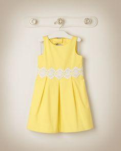 Janie Jack Embroidered Dress