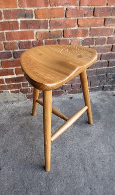 Stool made in sustainably sourced white oak. by AppalachianJoinery, $425.00