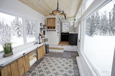 Open Concept Rustic Modern Tiny House Photo Tour and Sources   Ana White Woodworking Projects