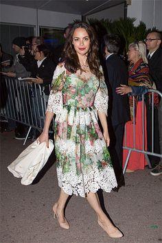 Celebrities in Floral Dresses - Best Little Floral Dresses