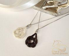 Pferdehaar Halskette eindeutige keltischen Stil von DesignAS