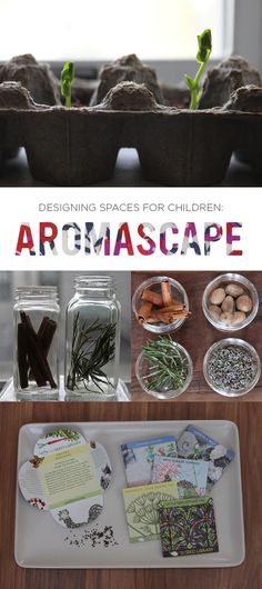 Inspiring tips on incorporating AROMA when designing learning spaces for the children in our lives...