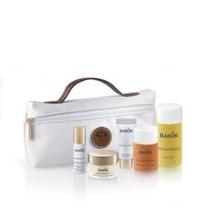 An introductory set from the VITA BALANCE range for dry skin, including BABOR's unique bi-phase cleansers, Daily Moisturising Cream, Moisture Plus Serum and Anti-Wrinkle Eye Cream.