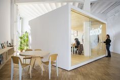 isern serra and sylvain carlet design goroka's headquarters in barcelona