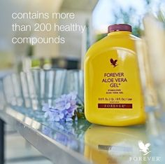 Aloe leaf contains more than 200 healthy compounds of
