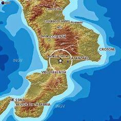 Terremoto in Calabria, scossa a Amato, Caraffa di Catanzaro, Cicala, Feroleto Antico, Gimigliano, Marcellinara