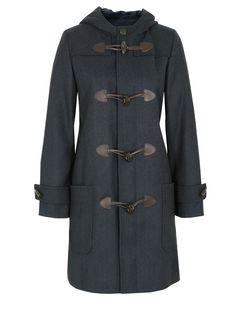 APC Navy Duffle Coat
