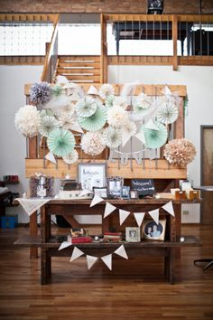 Whimsical wedding decor: http://www.stylemepretty.com/2012/04/16/chicago-wedding-by-cristina-g-photography/ | Photography: Cristina G - http://cristinagphoto.com/