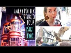 "Harry Potter Studio Tour : Part Two - ""Okay. The envy is overflowing now."""