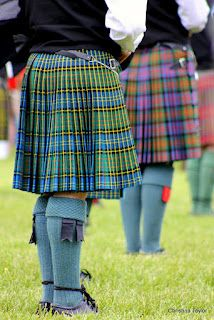 Kilts are a reflection of each clan's background and heritage.
