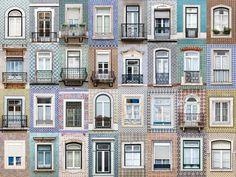 ポルトガル・リスボンの窓