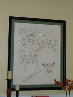 hand embroidered family tree-Will someone do this for me?