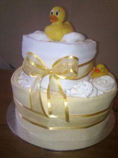 Bath Nappy cake