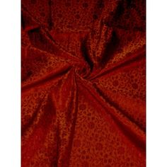 Silk Brocade, Plush Dolls, Pure Silk, Rust, Pure Products, Floral, Dark, 100 Pure, Gown