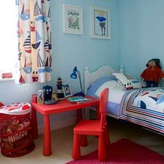 Nautical boys bedroom ideas painting