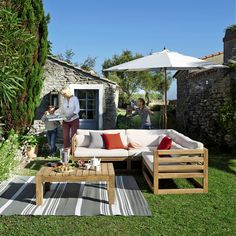3/4 seater teak garden ... - Cyclades