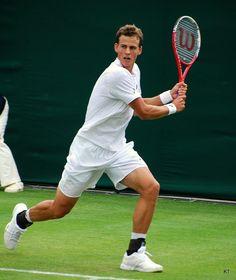 Vasek Pospisil at Wimbledon