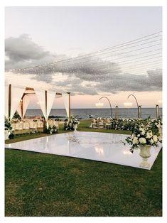 Wedding Goals, Destination Wedding, Wedding Planning, Wedding Ideas, Wedding Quotes, Wedding Trends, Dance Floor Wedding, Wedding Reception, Outdoor Tent Wedding