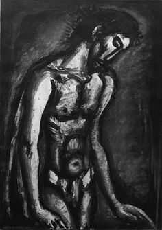 Artwork by Georges Rouault,  Miserre : Three Plates (C. and R. 72, 74 and 88)