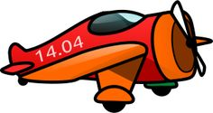 A cartoon orange airplane with propeller. Cartoon Plane, A Cartoon, Cartoon Characters, Baby Memory Quilt, Airplane Quilt, Aircraft Propeller, Transportation Theme, Png Photo, Art Pages