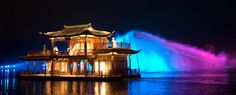 Imagine west lake, Hangzhou, China