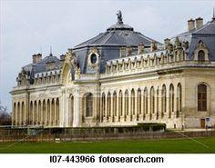 Chateau de Chantilly grand stables