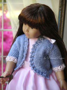 OOAK-HandKnitted-Bolero-Jacket-for-18-Kidz-n-Cats-dolls-by-Debonair-Designs