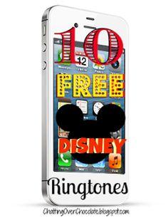 Chatting Over Chocolate: Magical Monday #7: 10 Free Disney Ringtones!