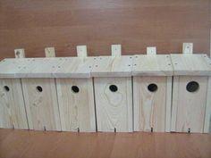 Budka lęgowa budki lęgowe dla ptaków zestaw 6 szt