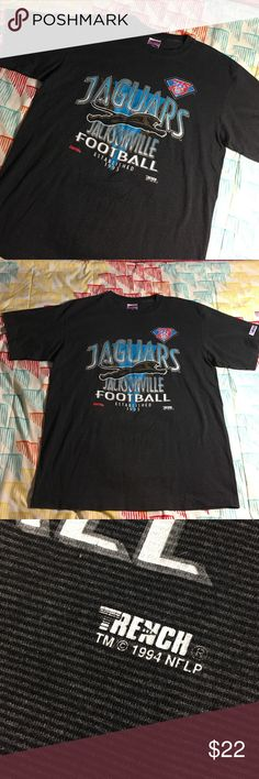 Vintage 1994 Jacksonville Jaguars Football Shirt Size men's XL - Excellent condition Trench Shirts Tees - Short Sleeve