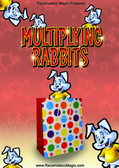 Multiplying Rabbits effect for children's entertainers from Razamatazz Magic