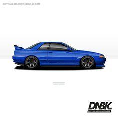 Blue beast. Dirtynailsbloodyknuckles.com Link in profile #nissan #skyline #gtr #nismo #godzilla #r32 #r32gtr #r34gtr #gojira #rb28 #nissanskyline #nissangtr #twinturbo #jdm #jdmcars #illest #fatlace #speedhunters #iamthespeedhunter #carart...