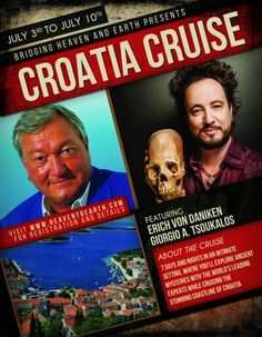 Ancient Mysteries, Ancient Aliens, Croatia, Cruise, Mystery, Cruises