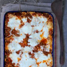 Baked polenta is a fabulous vegetarian entrée. It's layered with herbed mushrooms, fontina and Parmesan, and the bubbling crown of cheese on top is phenomenal.